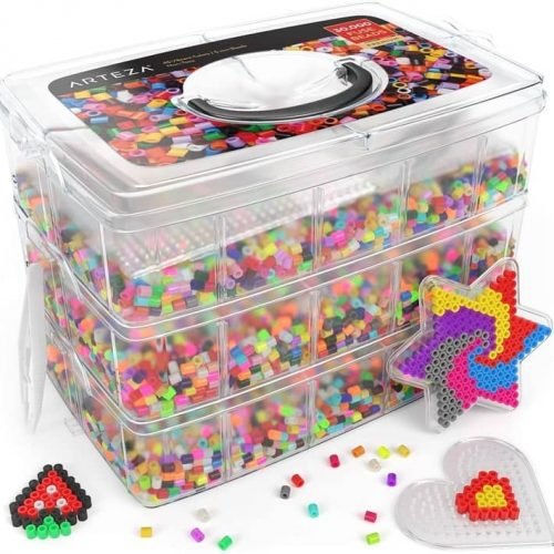 30-thousand-beads-45-colors-5-pegboards-2-tweezers-5-ironing-papers-and-container-for-pyssla-beads